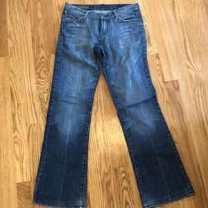 Citizens of Humanity sz 26 flare low rise bootcut